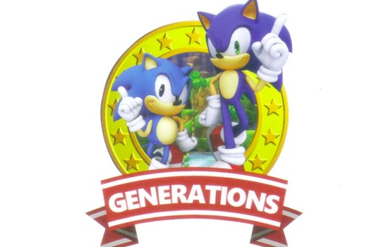 Two New Sonic Game Logos Leak (Including Sonic Generations)
