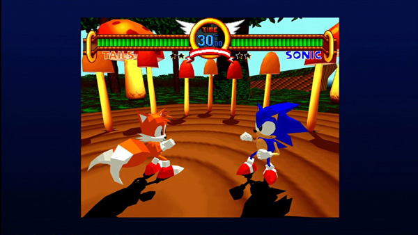 Sonic The Fighters Review