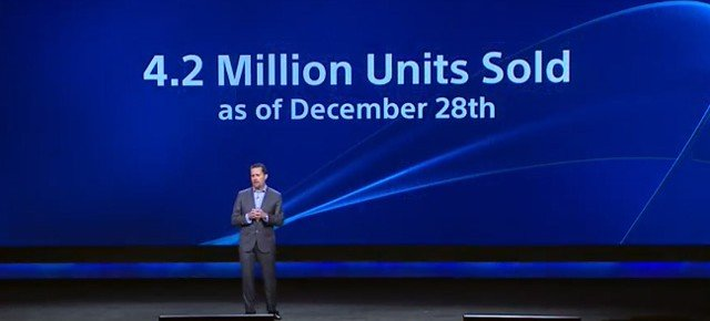Sony Sold 4.2 Million PlayStation 4 Consoles To Consumers In 2013