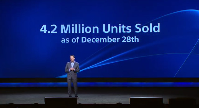 sony ces playstation-4 sales copy