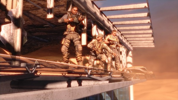 Spec Ops: The Line Now Offers Four Free Co-Operative Missions