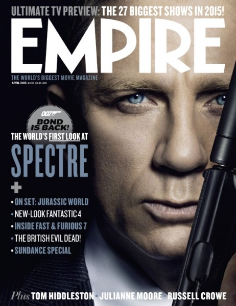 Spectre Adorns Empire Magazine Covers As New On-Set Footage Of Aston Martin Surfaces