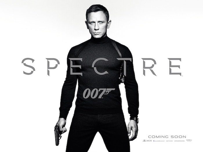 Daniel Craig Is James Bond In First Teaser Posters for SPECTRE