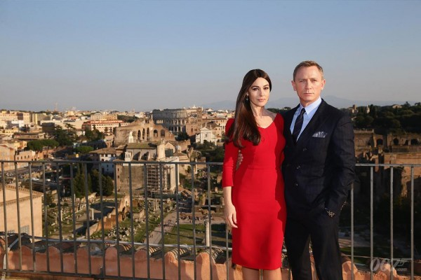 James Bond Heads To Italy For A Spectre Car Chase