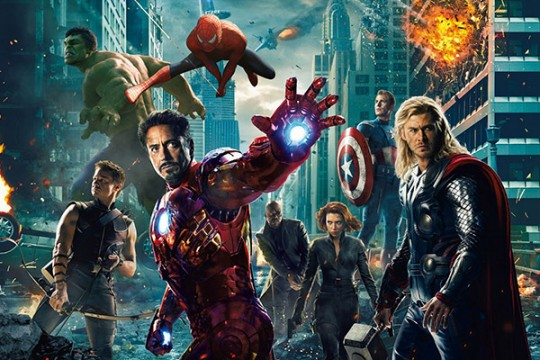 Black Widow, Thor And Nick Fury Land Avengers: Age Of Ultron Character Posters