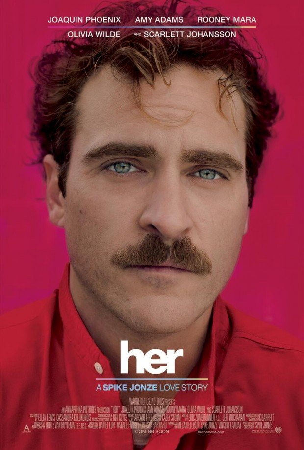 First Trailer And Poster For Spike Jonze's Her Is Here