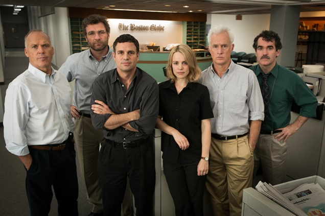 First Image From Spotlight Showcases Its Amazing Cast