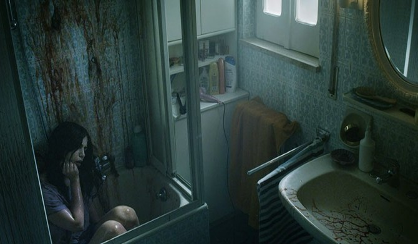 spring bloody bathroom