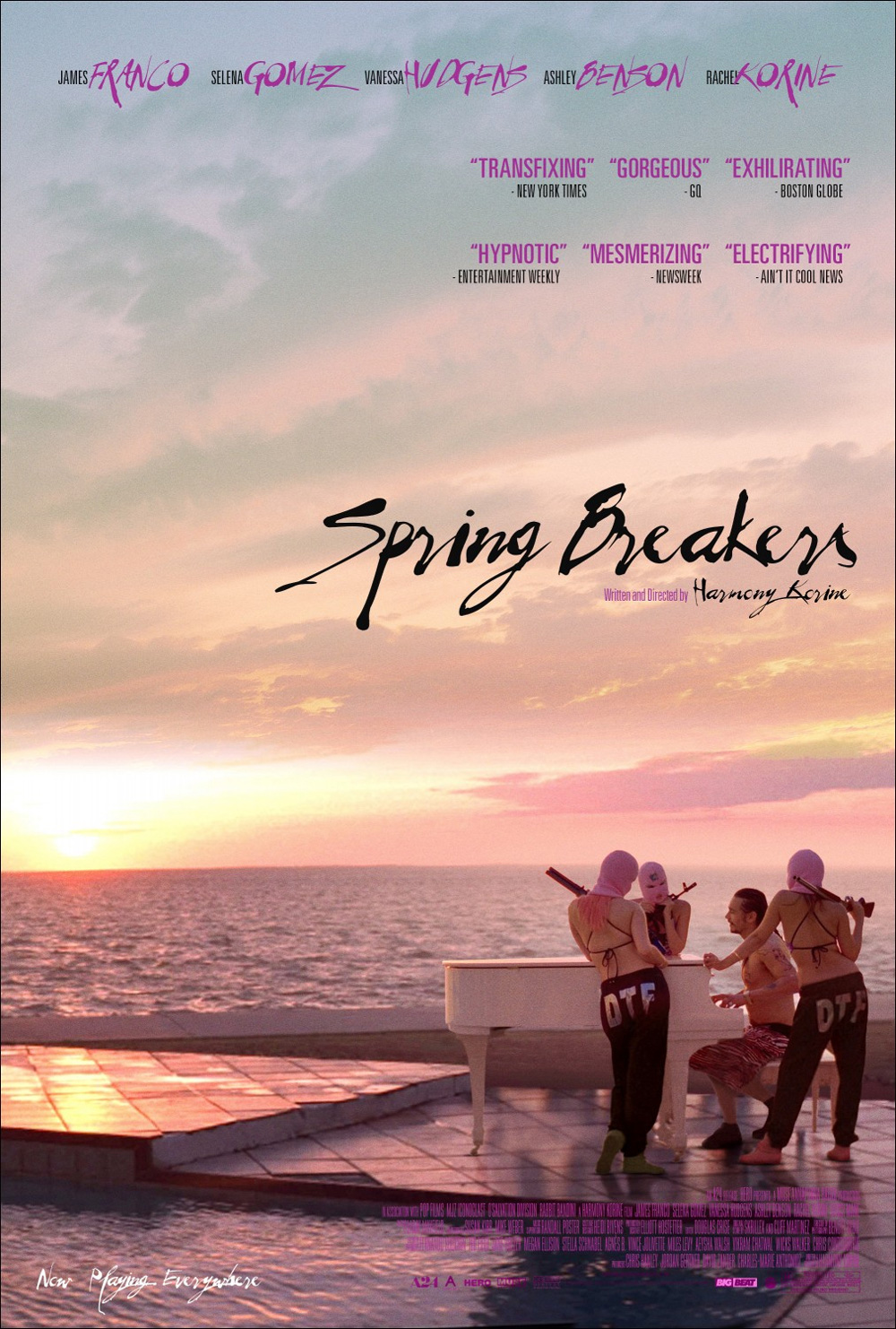 springbreakers1 The Top 10 Movie Posters Of 2013