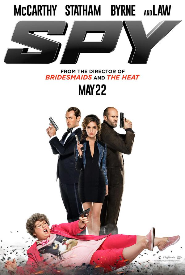 First Trailer For Paul Feig And Melissa McCarthy's New Comedy Flick Spy