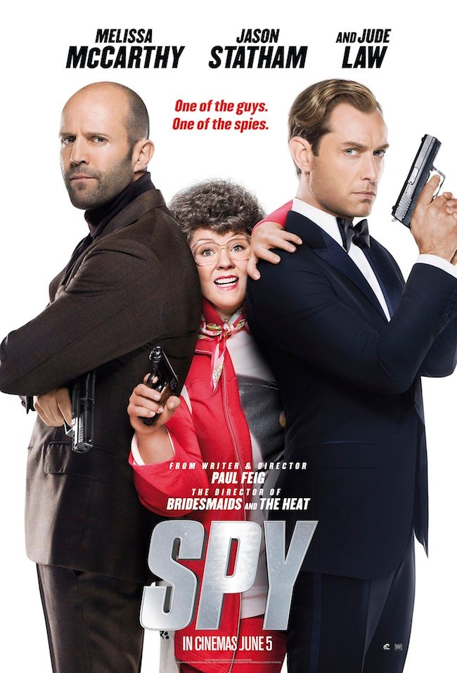 Melissa McCarthy, Jason Statham And Jude Law Land Spy Posters