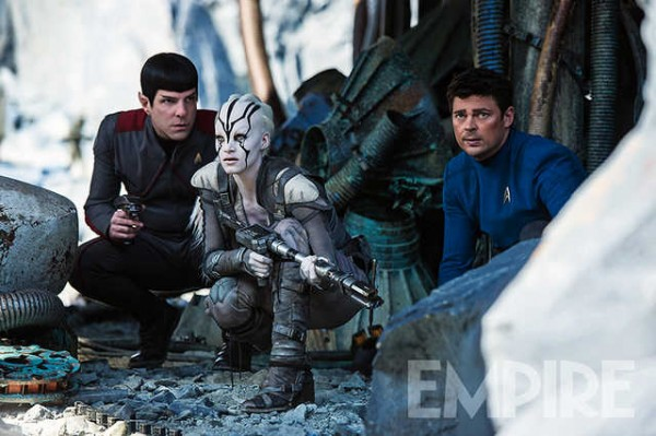 Sofia Boutella Lends A Helping Hand In New Image For Star Trek Beyond