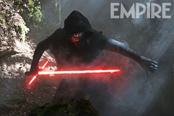 Kylo Ren Channels The Force In Latest Star Wars: The Force Awakens Photo