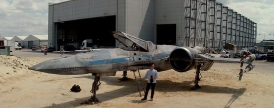 star wars episode vii x wing abrams