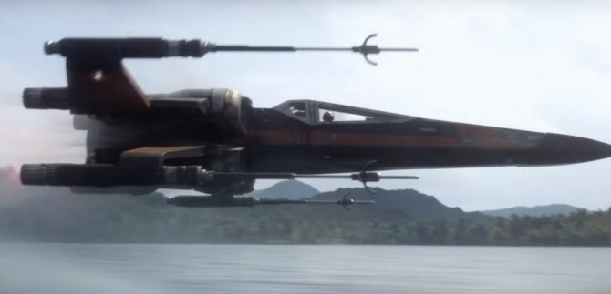 star wars force awakens x wing