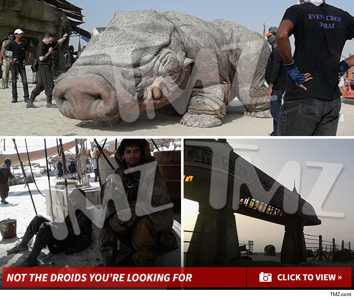 TMZ Unveils Trove Of Set Images From Star Wars: Episode VII