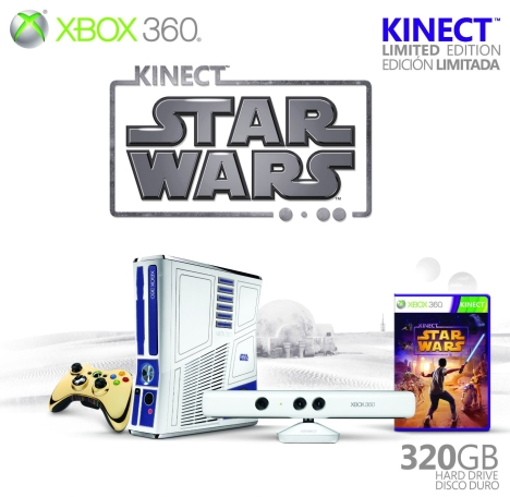 Microsoft Announces Release Date For Kinect Star Wars