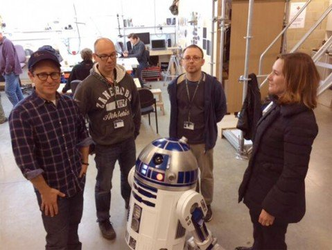 First Behind The Scenes Image From Star Wars: Episode VII Surfaces
