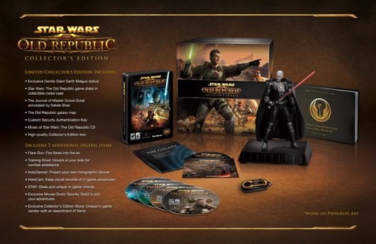 The Old Republic Collector's Edition Plus Beta Weekend Info