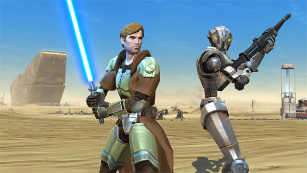 Star Wars: The Old Republic Gets Updated & Goes Free-To-Play Today