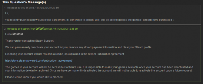 Valve: Accept New Steam Subscriber Agreement Or Disable Your Account