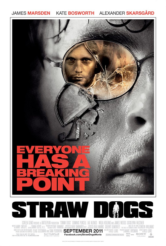 Official Poster For Straw Dogs Remake