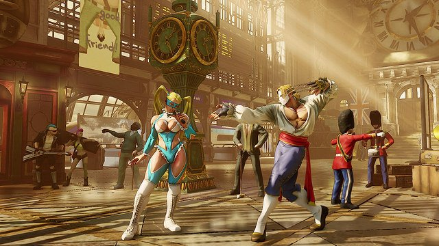 Street Fighter V Producer Explains Decision To Remove Certain Character Animations
