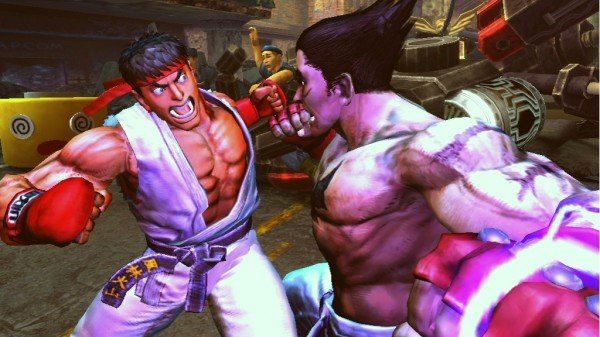 streetfighterxtekkenscreen1 e1318632075568 Capcom Is Re Evaluating Its On Disc DLC Plans