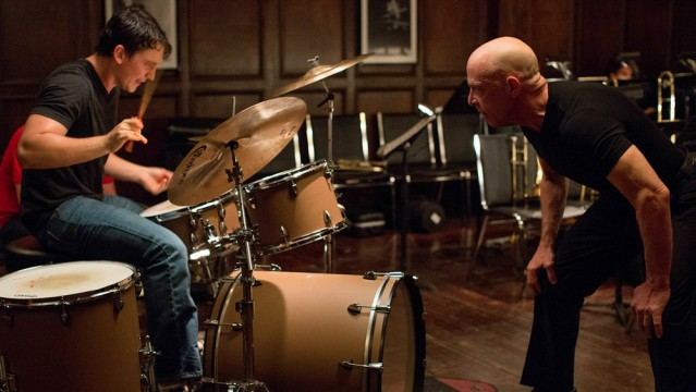 J.K. Simmons Throws A Chair At Miles Teller In First Whiplash Clip