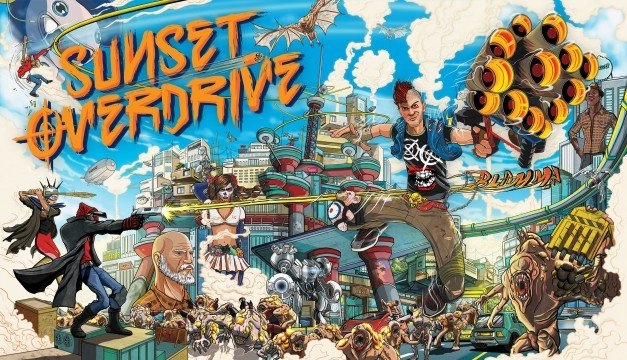 Sunset Overdrive: Dawn of the Rise of the Fallen Machines Review