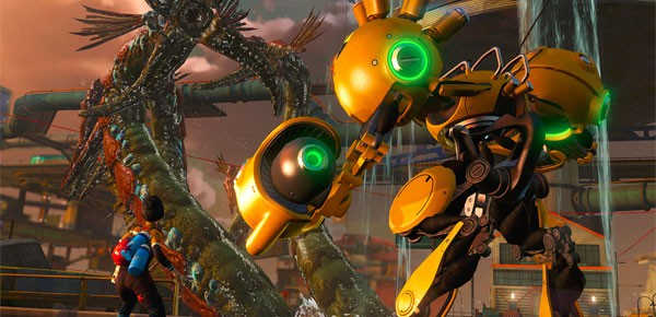 Sunset Overdrive's Mystery Of The Mooil Rig DLC Now Available