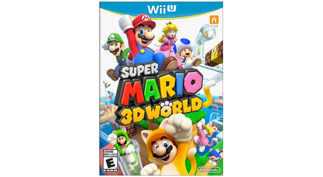 super mario 3d world box art top image Super Mario 3D Worlds Box Art Is Cat Tastic!