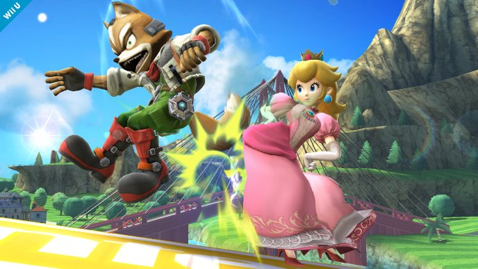 super smash bros peach wii u (1)