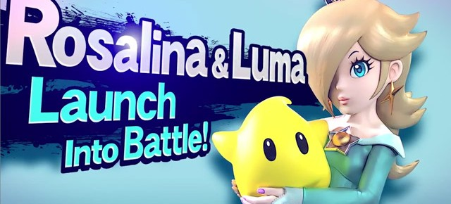 Super Mario Galaxy's Rosalina & Luma Announced For Super Smash Bros.