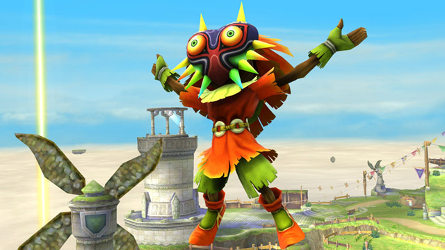 Skull Kid From Majora's Mask Will Be An Assist In Super Smash Bros. Wii U
