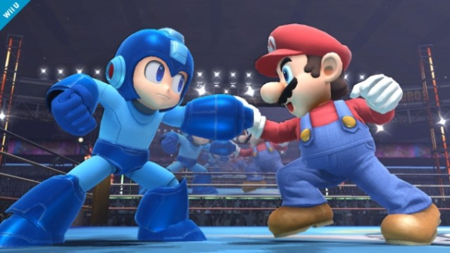 super smash bros wii-u