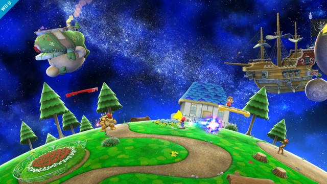 Behold The Beauty Of The Super Mario Galaxy Stage In Super Smash Bros.