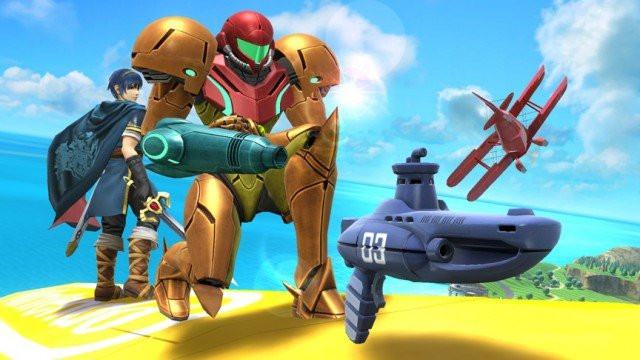 Say Hello To The Little Sub-Machine Gun In Super Smash Bros.