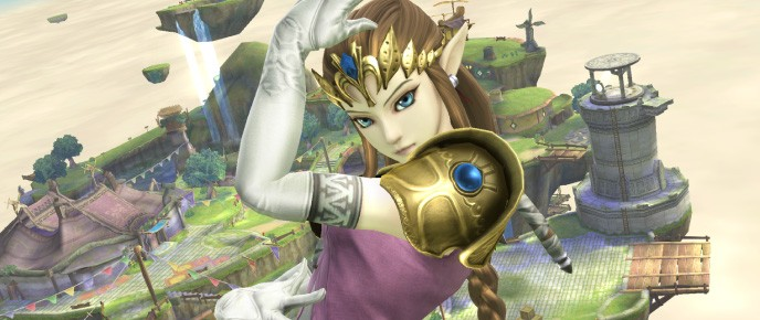 Twilight Princess-Style Zelda Confirmed For Super Smash Bros. Wii U And 3DS