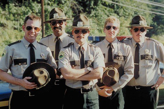 Filming Is Underway On Super Troopers 2 As First Stills Reveal On-Set Shenanigans