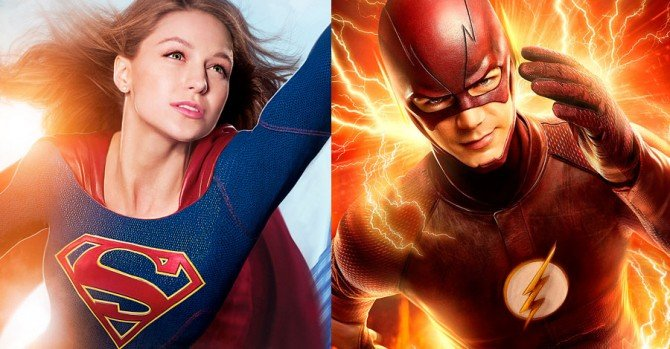 A Crossover Between The Flash And Supergirl Is Officially Happening