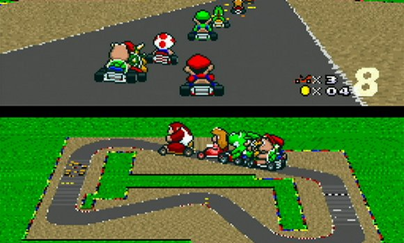 Super Mario Kart Has Sped Onto The Wii U eShop