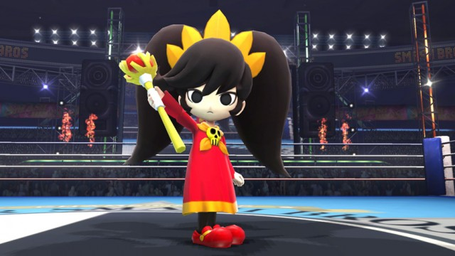 WarioWare's Ashley Will Be An Assist Trophy In Super Smash Bros.