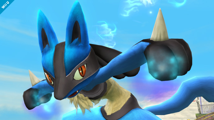 Lucario Confirmed For Super Smash Bros. Wii U And 3DS