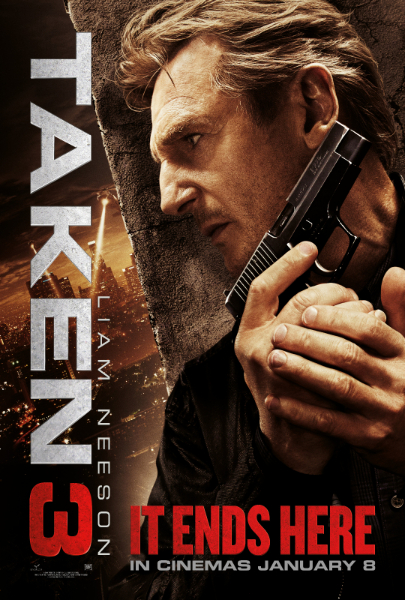 New Clip And Poster Tease Liam Neeson's Final Mission In Taken 3