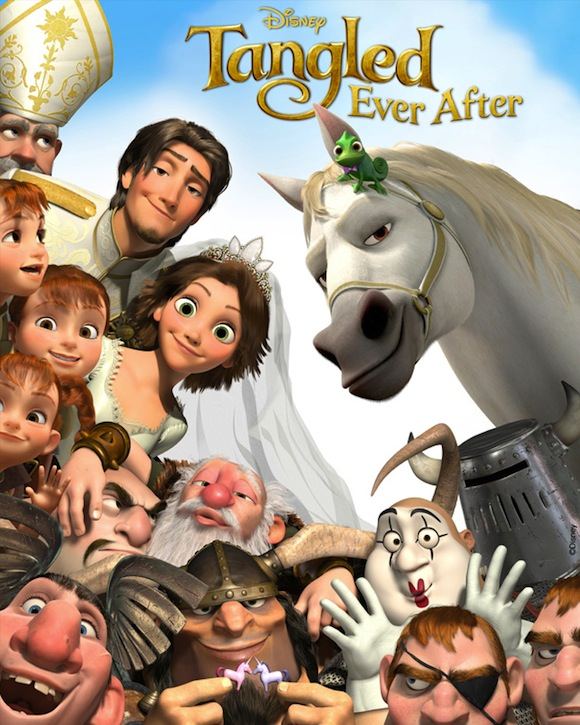 New Short Tangled Ever After To Premiere Before Beauty And The Beast 3D