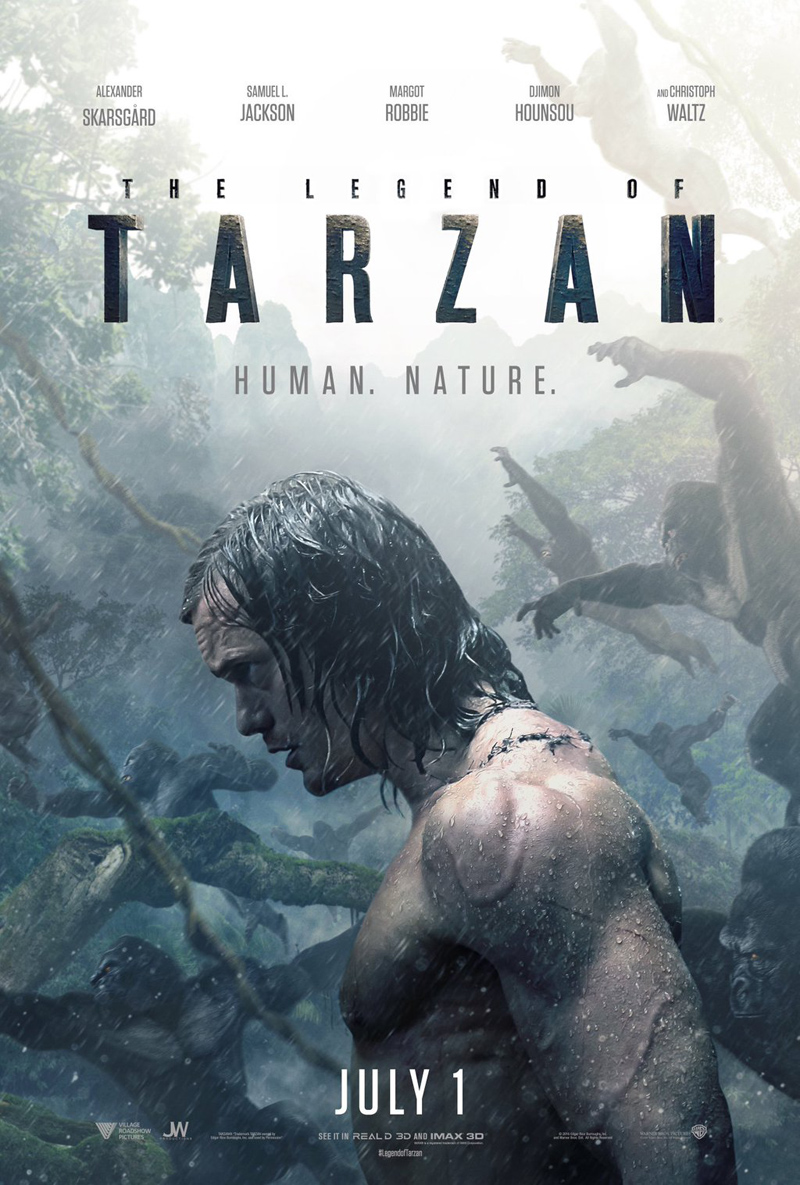 Rumble In The Jungle As The New Legend Of Tarzan Trailer Roars Online
