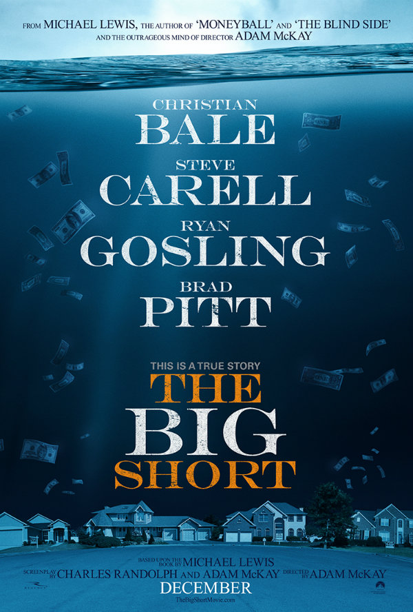 The Housing Market Takes A Tumble In First Poster For Adam McKay's The Big Short