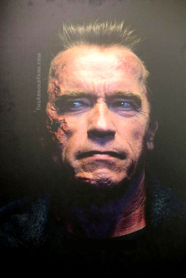 Arnie Is Back As The T-800 In Leaked Photo From Terminator: Genisys