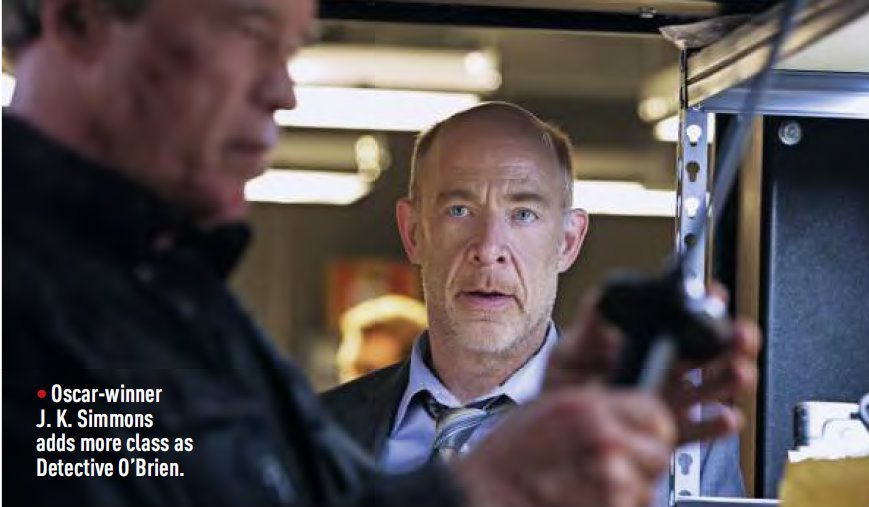 New Terminator: Genisys Images Include First Look At J.K. Simmons' Character